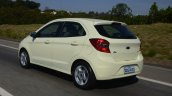 New Ford Ka first images rear dynamic
