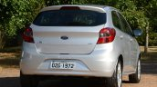 New Ford Ka first images rear