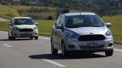New Ford Ka first images two cars
