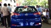 Next gen Hyundai i20 spied rear