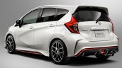 Nissan Note NISMO rear three quarters press image