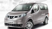 Refreshed Nissan Evalia press shots front