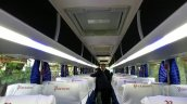 Scania Metrolink Parveen Travels Chennai interior