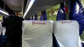 Scania Metrolink Parveen Travels Chennai seats