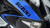 Suzuki Inazuma 250Z blue tank decal