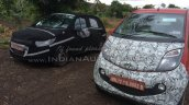 Tata Kite small car IAB spy image