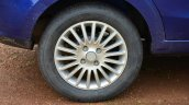 Tata Zest Diesel F-Tronic AMT Review alloy wheels