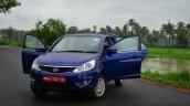 Tata Zest Diesel F-Tronic AMT Review doors open