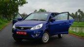 Tata Zest Diesel F-Tronic AMT Review front doors open