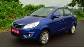 Tata Zest Diesel F-Tronic AMT Review front quarter angle