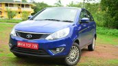 Tata Zest Diesel F-Tronic AMT Review front quarter shot