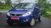 Tata Zest Diesel F-Tronic AMT Review front quarter
