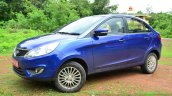 Tata Zest Diesel F-Tronic AMT Review front three quarter image