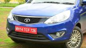 Tata Zest Diesel F-Tronic AMT Review grille and lights