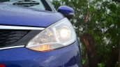 Tata Zest Diesel F-Tronic AMT Review headlight on