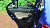 Tata Zest Diesel F-Tronic AMT Review rear door trim