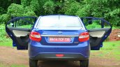 Tata Zest Diesel F-Tronic AMT Review rear doors open