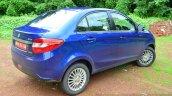 Tata Zest Diesel F-Tronic AMT Review rear quarter image