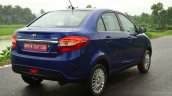 Tata Zest Diesel F-Tronic AMT Review rear quarter shot
