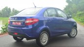 Tata Zest Diesel F-Tronic AMT Review rear quarter