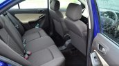 Tata Zest Diesel F-Tronic AMT Review rear seat space