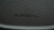 Tata Zest Revotron Petrol Review airbag