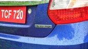 Tata Zest Revotron Petrol Review badge