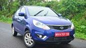 Tata Zest Revotron Petrol Review front quarter angle