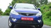 Tata Zest Revotron Petrol Review front quarter