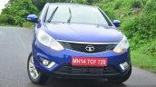 Tata Zest Revotron Petrol Review front three quarter