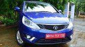 Tata Zest Revotron Petrol Review front view