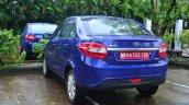 Tata Zest Revotron Petrol Review rear angle