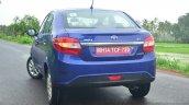 Tata Zest Revotron Petrol Review rear quarters