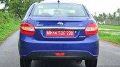 Tata Zest Revotron Petrol Review rear