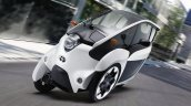 Toyota i-Road front three quarters official image