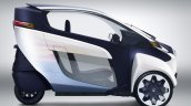 Toyota i-Road side official image