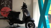 Vespa Esclusivo limited edition black front three quarters