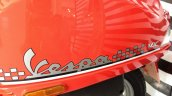 Vespa Esclusivo limited edition red graphics