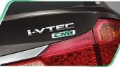 2014 Honda City CNG Thailand press shot badge