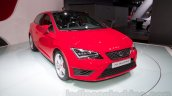 2014 Seat Leon Cupra front three quarter right at the Moscow Motor Show 2014