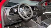 2014 Seat Leon Cupra interior at the Moscow Motor Show 2014