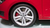 2014 Seat Leon Cupra wheel at the Moscow Motor Show 2014