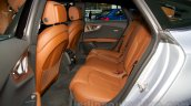2015 Audi A7 rear seats at the Moscow Motorshow 2014