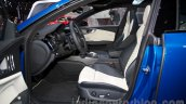 2015 Audi RS7 front seats at the Moscow Motorshow 2014