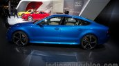 2015 Audi RS7 side at the Moscow Motorshow 2014