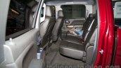 2015 Chevrolet Silverado at the 2014 Moscow Motor Show rear seat