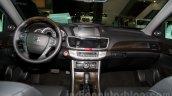 2015 Honda Accord interior at the 2014 Moscow Motor Show