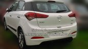 2015 Hyundai Elite i20 spied stockyard rear