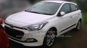 2015 Hyundai Elite i20 spied stockyard