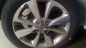 2015 Hyundai Elite i20 spotted wheel